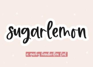 Sugarlemon Font