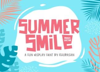 Summer Smile Font