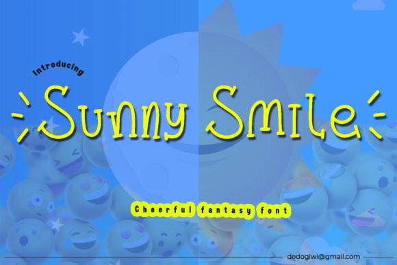 Sunny Smile Font