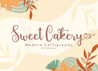 Sweet Cakery Font