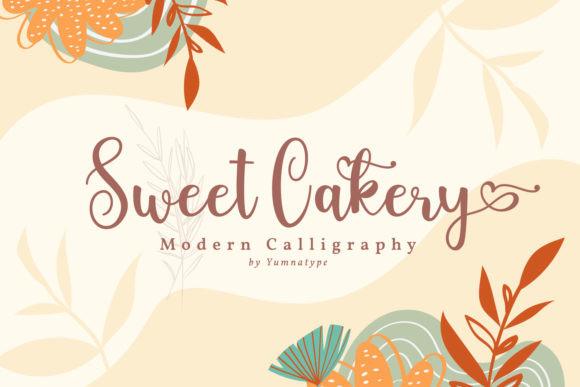 Sweet Cakery Font