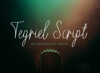 Tegriel Script Font