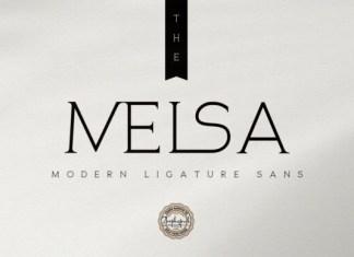 The Melsa Font