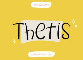 Thetis Font