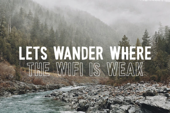 Wonderful Wilderness Font
