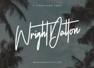 Wright Dalton Font