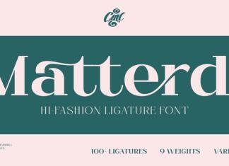 Matterdi Font