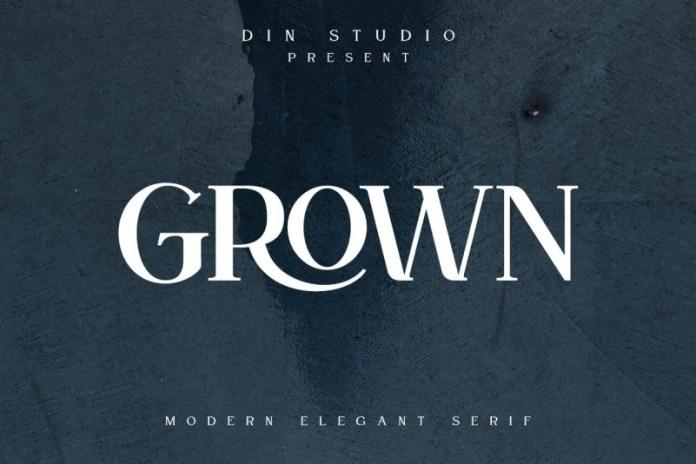 Grown Font