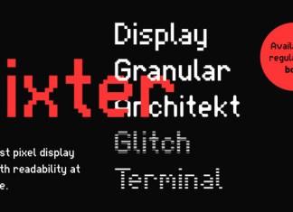 Pixter Font