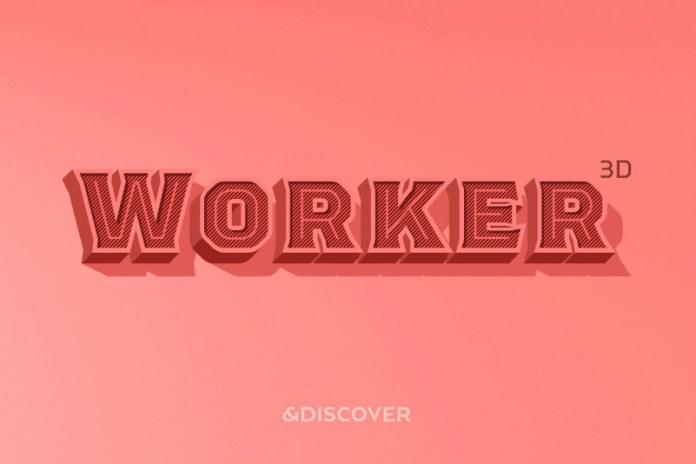 Worker Font