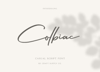 Colbiac Font