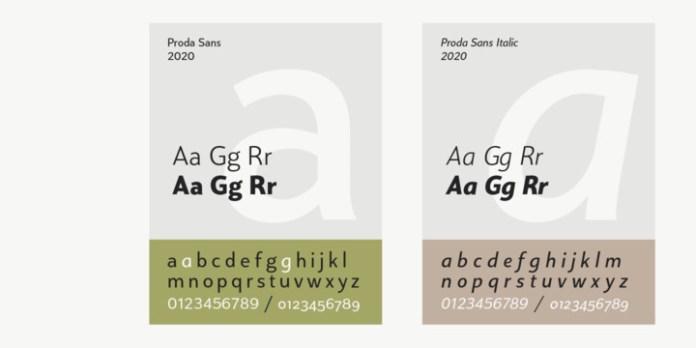 Proda Sans Font