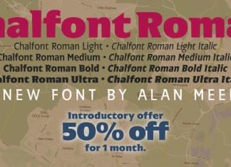Chalfont Roman Font