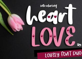 Heart Love Font