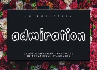 Admiration Font