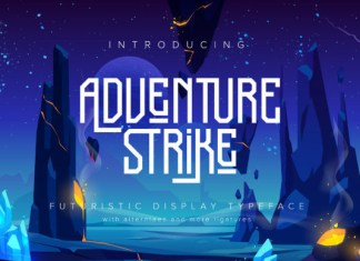 Adventure Strike Font