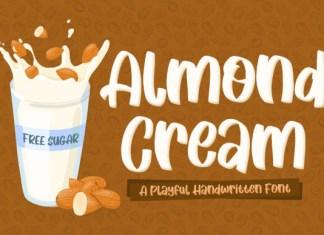 Almond Cream Font