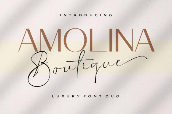 Amolina Boutique Font