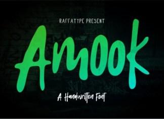 Amook Font