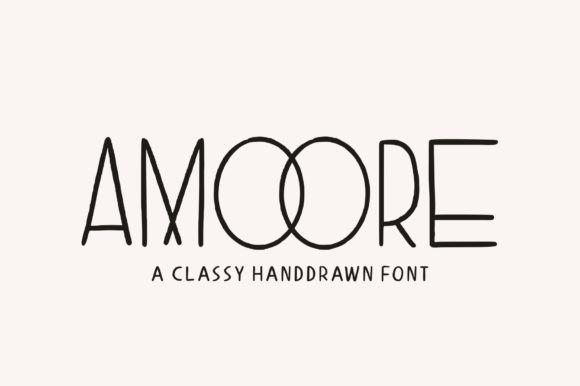 Amoore Font