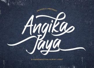 Angika Jaya Font