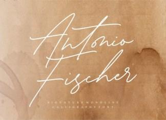 Antonio Fischer Font