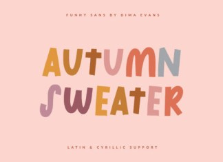 Autumn Sweater Font