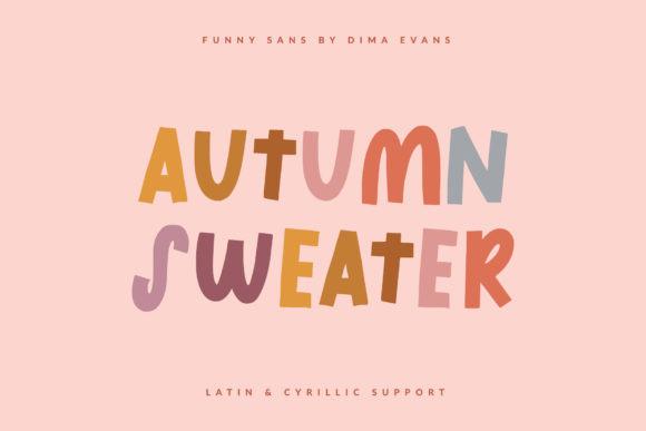 Autumn Sweater Font