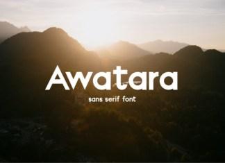 Awatara Font
