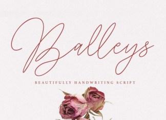 Balleys Font