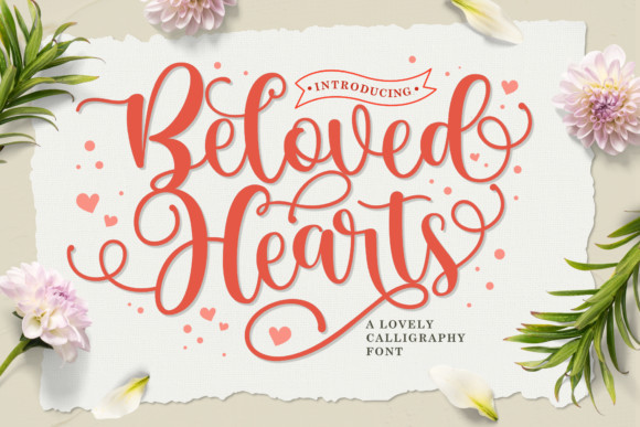 Beloved Hearts Font