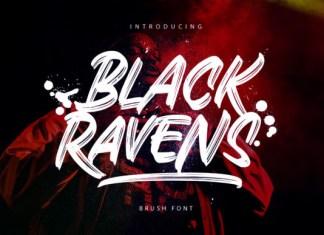 Black Ravens Font