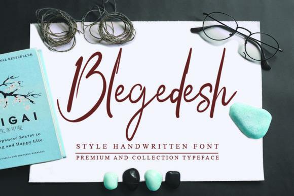 Blegedesh Font