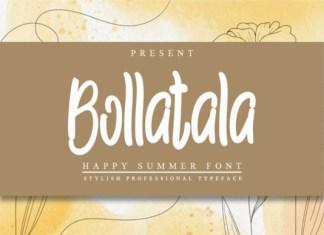 Bollatala Font