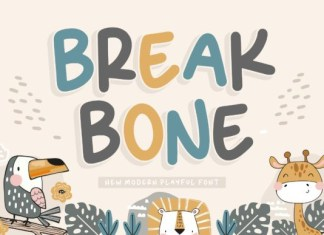 Break Bone Font