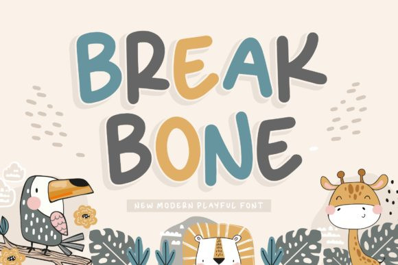 Break Bone Font
