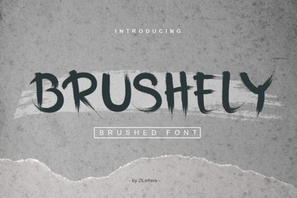 Brushely Font