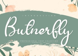 Butnerfly Font