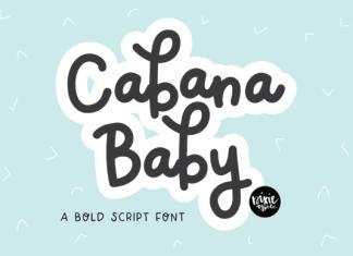 Cabana Baby Font
