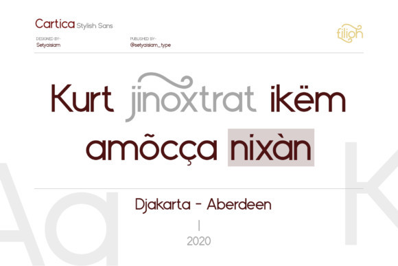 Cartica Font