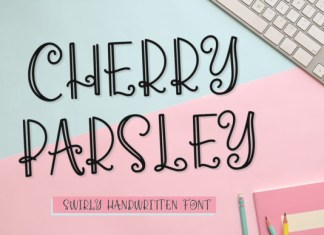 Cherry Parsley Font