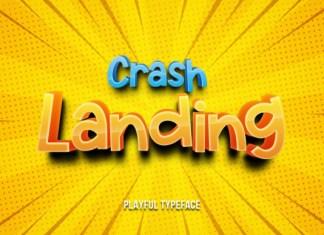 Crash Landing Font