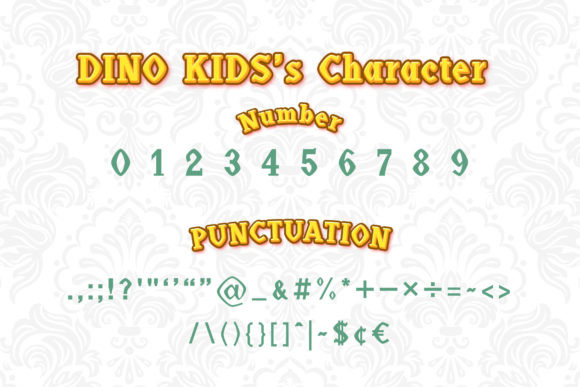 Dino Kids Font