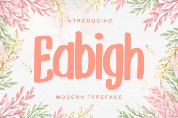 Eabigh Font