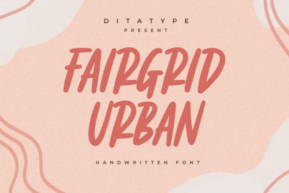 Fairgrid Urban Font