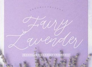 Fairy Lavender Font