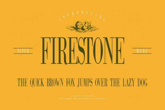 Firestone Font