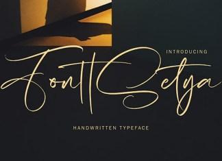 FonttSetya Font