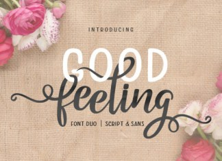 Good Feeling Font