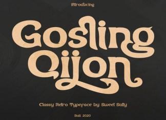 Gosling Qijon Font